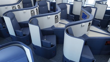 All long haul Delta business class seats should be lie flat by June 2014. That's the only good news...