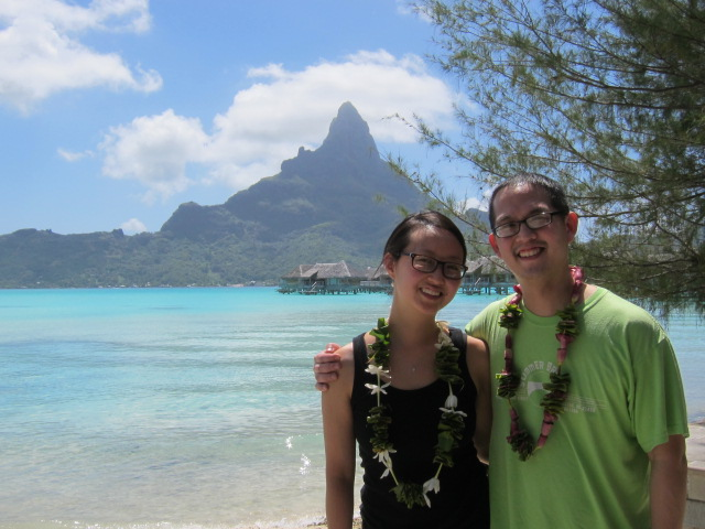 Checking in at the Intercontinental Thalasso in Bora Bora