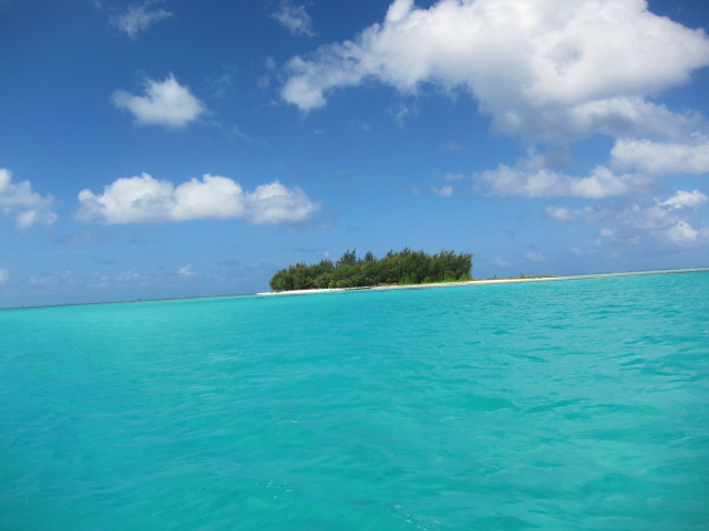 Amazing views on the way to the outer reef