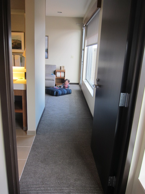 """View down the """"hallway"""" from our bedroom"""