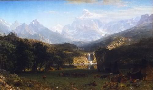 Albert Bierdstadt's Rocky Mountain