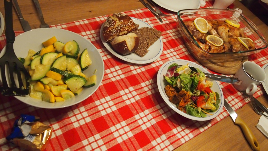 Bavarian summer food in germany and austria asthejoeflies home cooked meals provided a nice break forumfinder Image collections