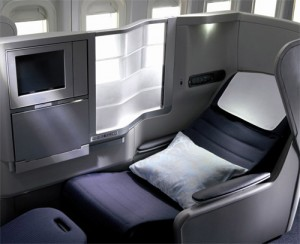 British Airways business class is still lie flat, but we paid for first and would prefer that