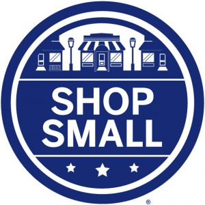 Most small businesses that qualify put some kind of shop small sticker up in their window