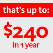 Santander Bank wants to pay you $240! And how to live on $5,000 per year