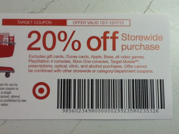 black friday coupon target