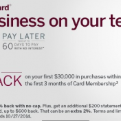 Amex Plum Card sign-up bonus: $1,050 back with $30,000 spend