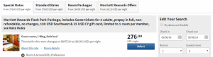 Cleveland Browns at the Pittsburgh Steelers in Pittsburgh 7 September 14 example Marriott NFL Game Day Package.
