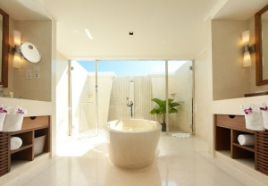 Executive Suite Bathroom at the J.W. Marriott Khao Lak