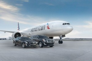 American Airlines and Cadillac Partners - photo courtesy of GM press release.