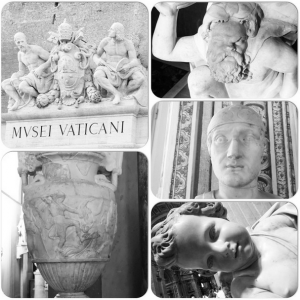 Breakfast at the Vatican, Marble Details, The Vatican, August 2014