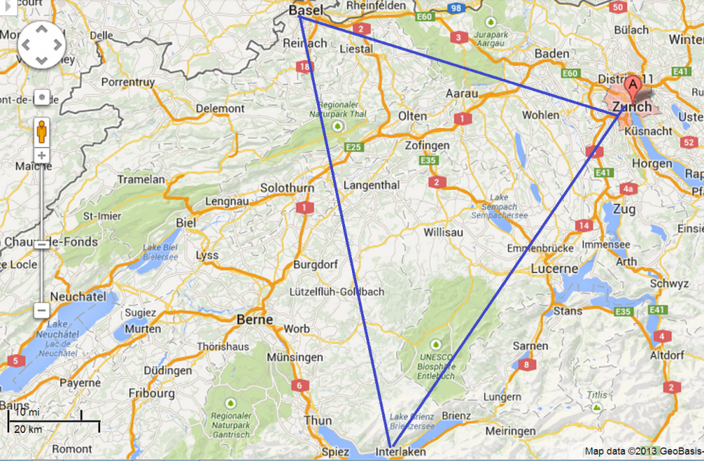Planning Switzerland By Train Saverocity Travel – Swiss Travel System Map