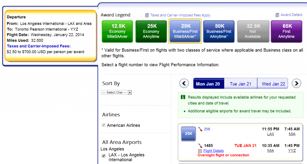 Aadvantage Award Travel Phone Number
