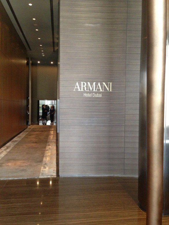 One day in dubai the ultimate dubai experience trip Armani hotel in burj khalifa