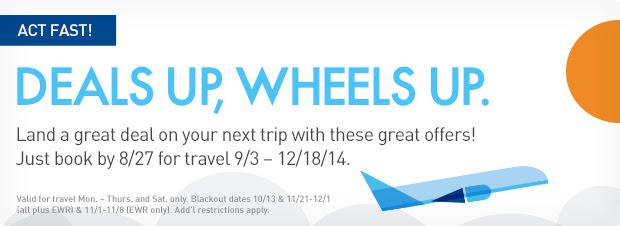 JetBlue Fall Promo