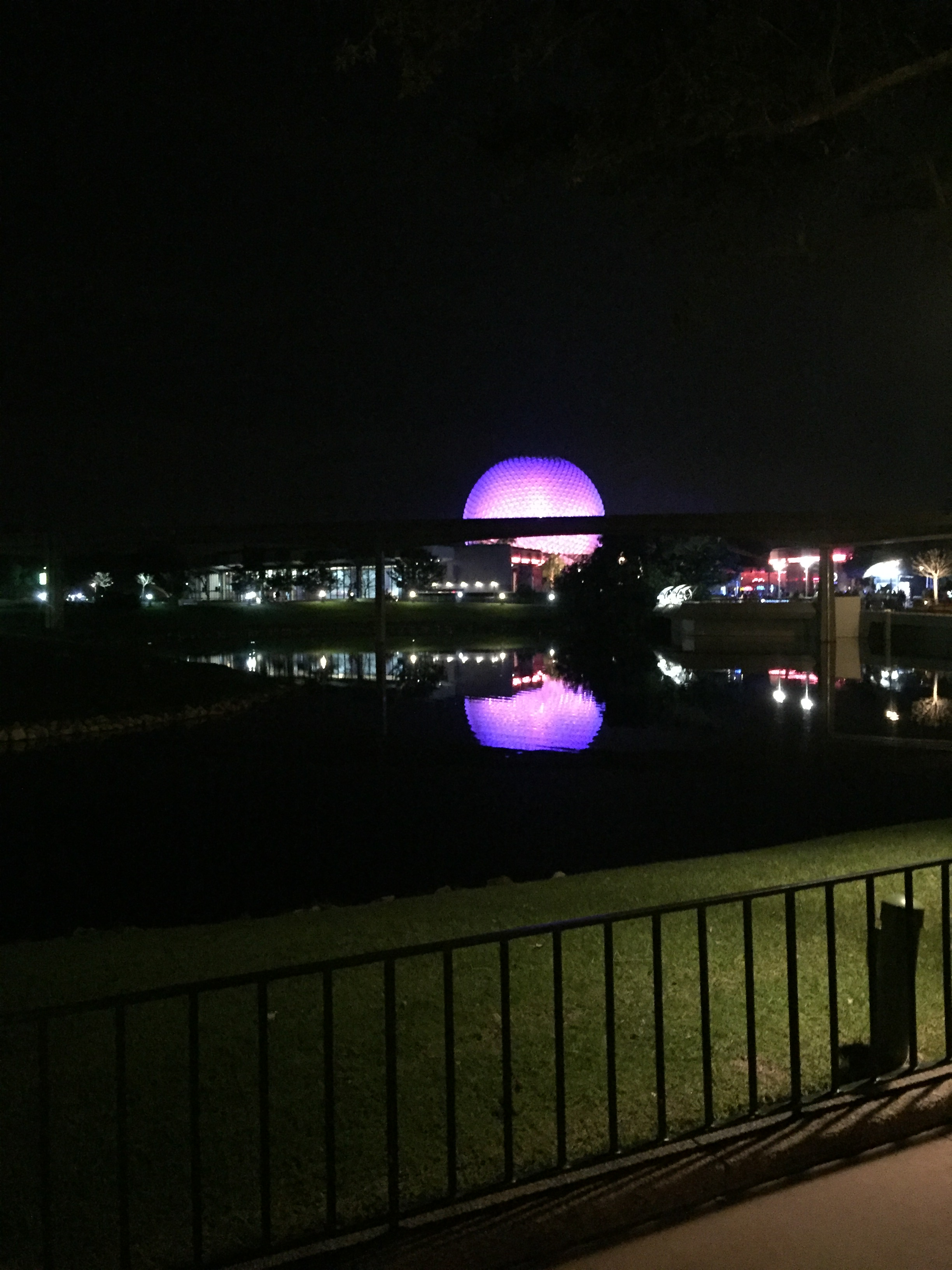 Disney World Epcot Night