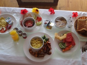 Babyless in Bora Bora: Eating Options in the Intercontinental Thalasso
