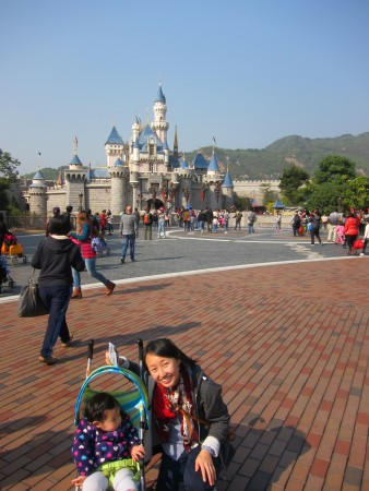 Home for the Holidays: Hong Kong Disneyland with a Toddler