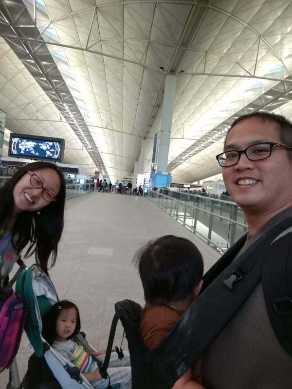 We took Cathay Pacific BOS-HKG in business class with our four year old and toddler. Here's how we managed to survive the 15 hour flight.