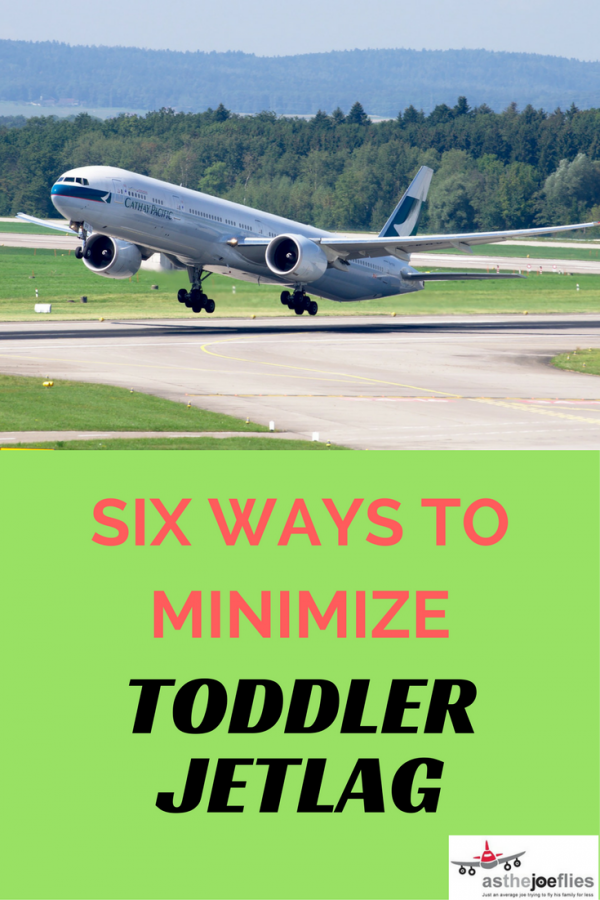 Both times we've taken our kid(s) to Asia, we've had to deal with some severe toddler jet lag. Here are some ideas for how to minimize the negative effects.