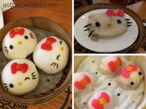 Hong Kong Revisited: Hong Kong Hello Kitty Dim Sum Review