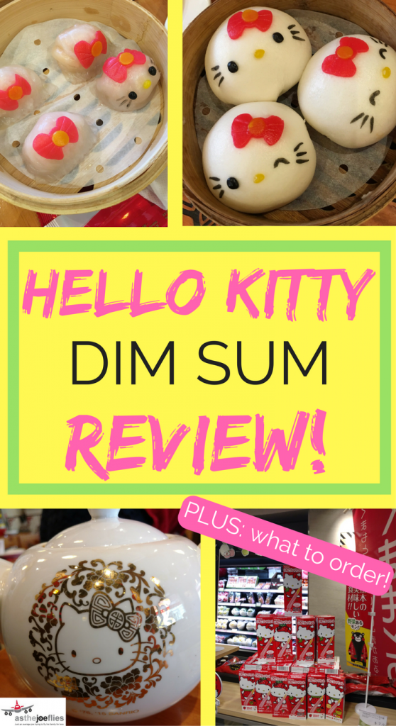 Did you know there is a Hello Kitty dim sum restaurant in Hong Kong? And the food is pretty good! Learn about what to order and more in this review.
