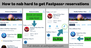Disney World Fastpass+ Tips and Tricks
