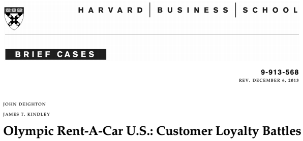 harvard small business classes situation studies