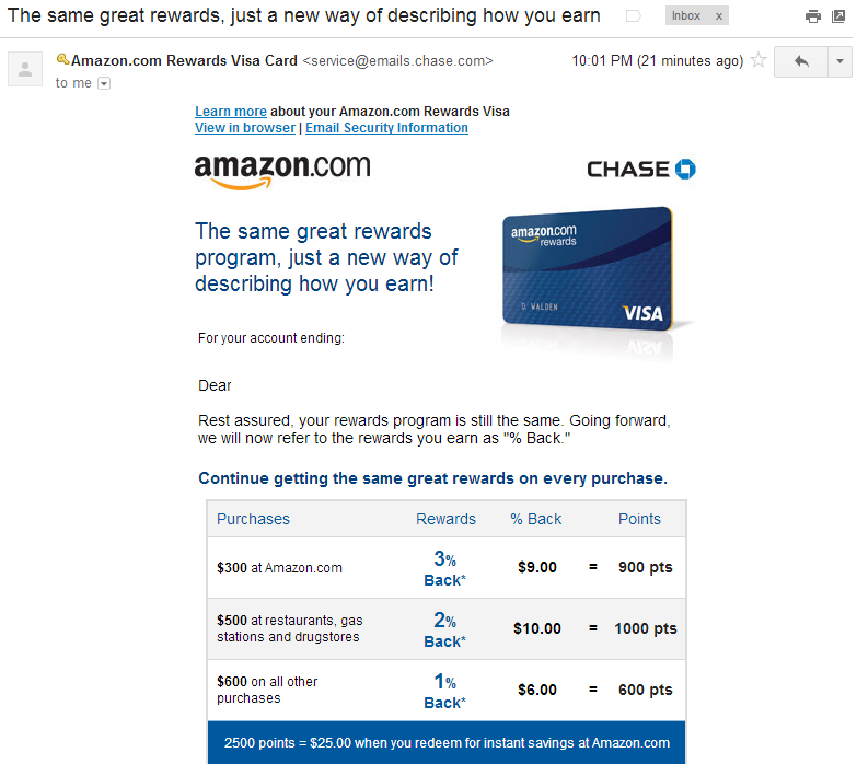 Chase Silently Devalues Amazon Credit Card, Is Freedom