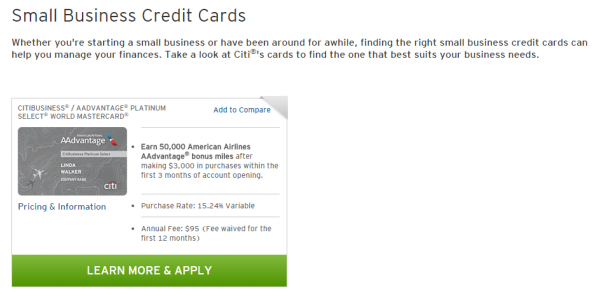 Why i will not sign up for the citi aadvantage business card why i will not sign up for the citi aadvantage business card chasing the points reheart Choice Image