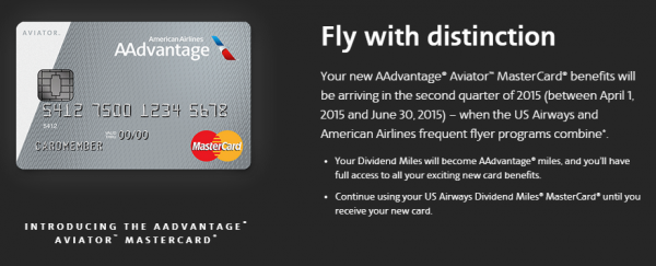 Learn About The New Barclay American Airlines Aviator Cards