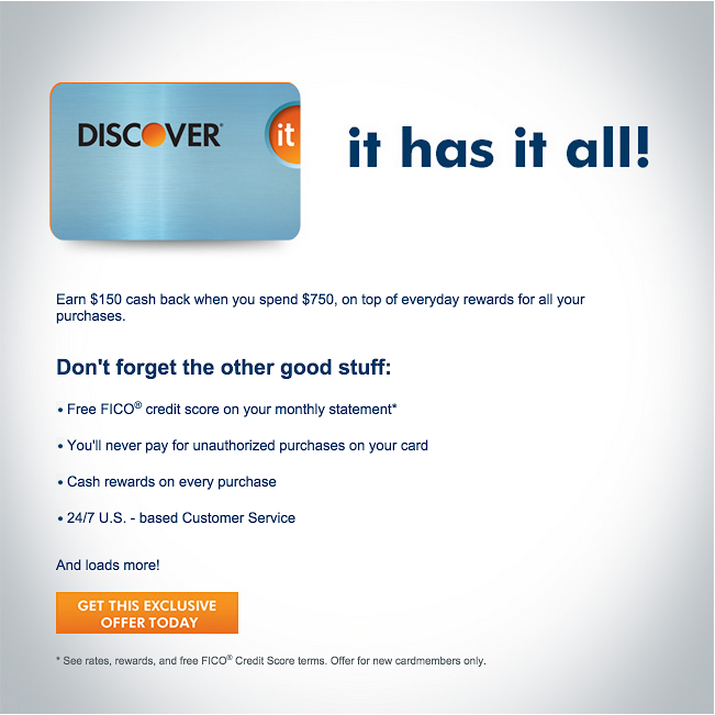 I'm Excited, I Was Approved For A Second Discover Card