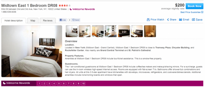 Hotels.com offers private rooms
