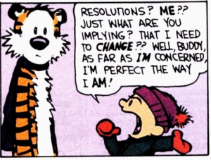 My New Years Resolutions