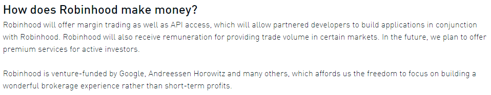 Robinhood calls the cattle investors, but that name should be reserved for the real money here.