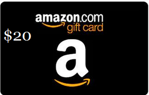 Free $20 Amazon Gift Card for first 1000 signups #BlackFriday
