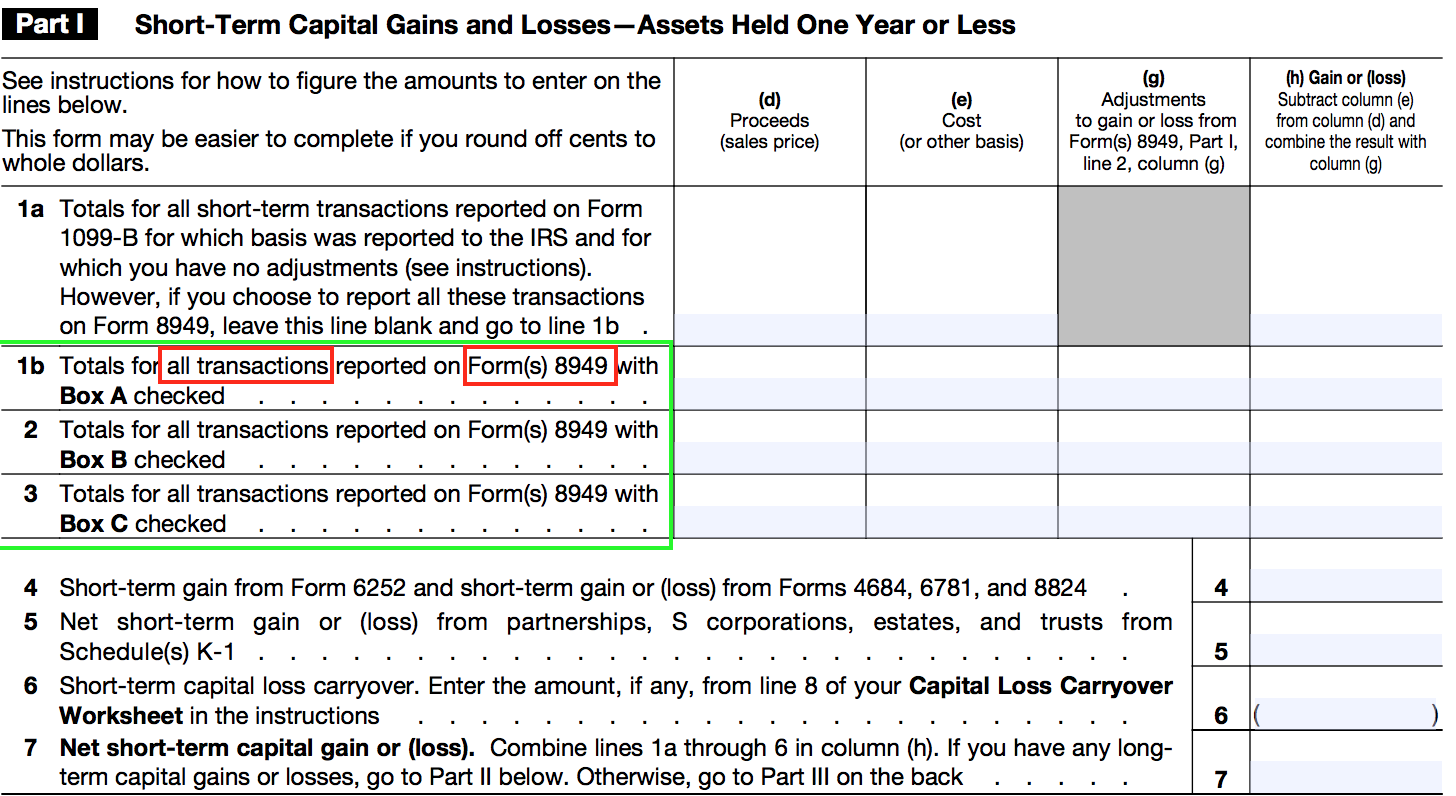 Basis reporting for Capital Gains and Losses - Saverocity Finance