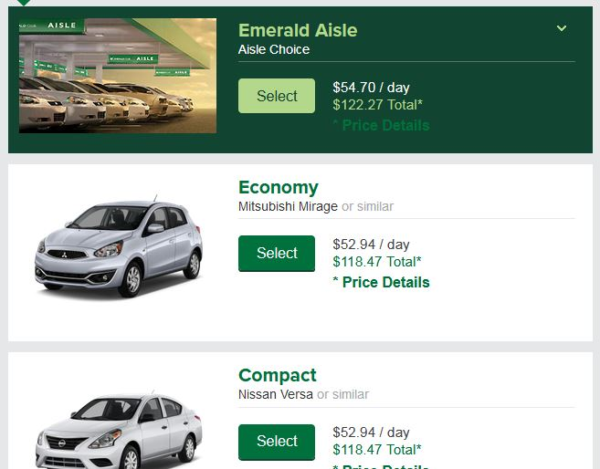 When Do Car Rental Prices Go Down