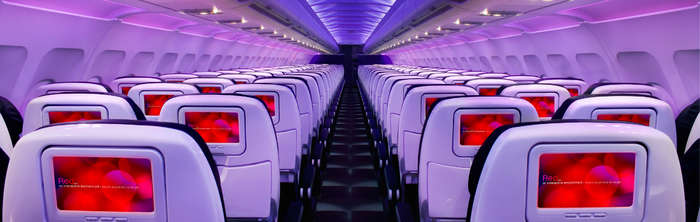 Nightclub or airplane? Take your pick.