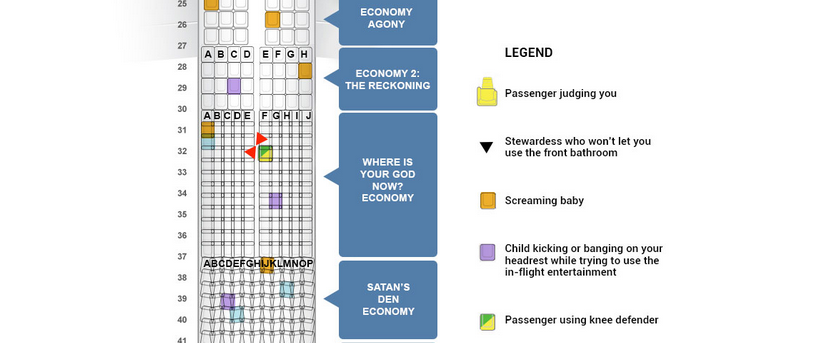 Delta unveils revolutionary new seating chart