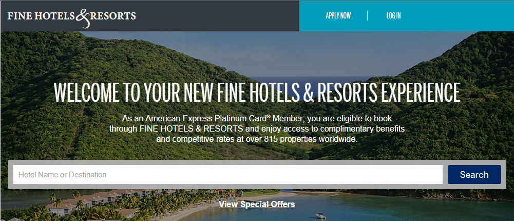 Guide: American Express Fine Hotels & Resorts