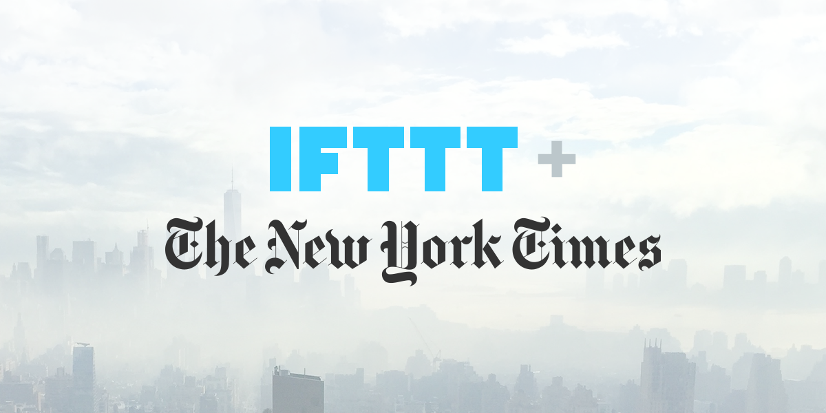 Free NYTimes subscription with IFTTT alerts