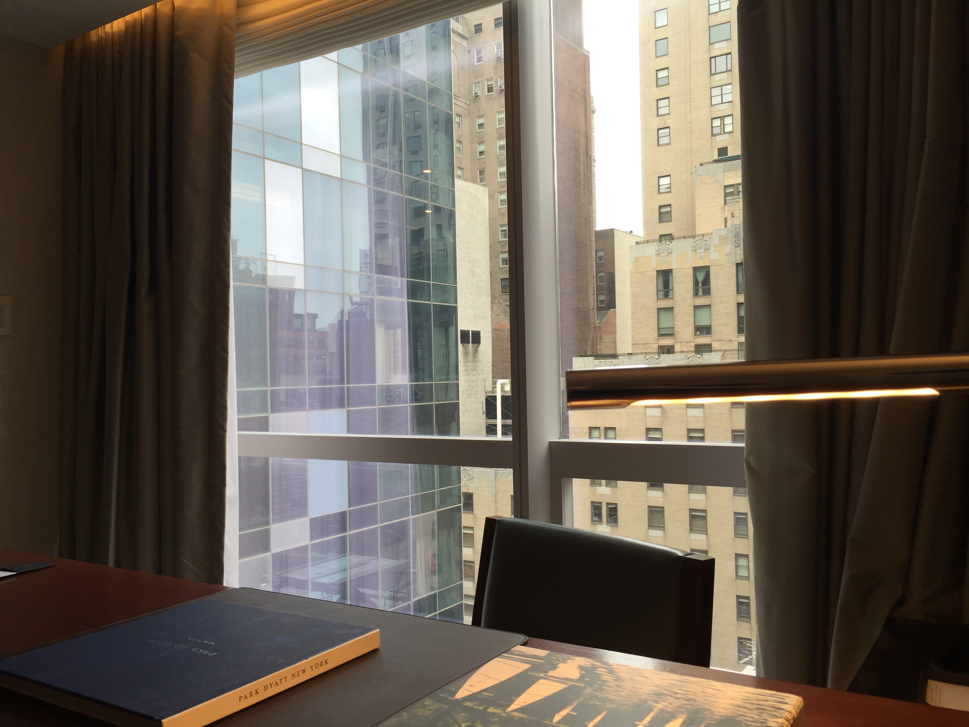 Park Hyatt Deluxe King Desk View