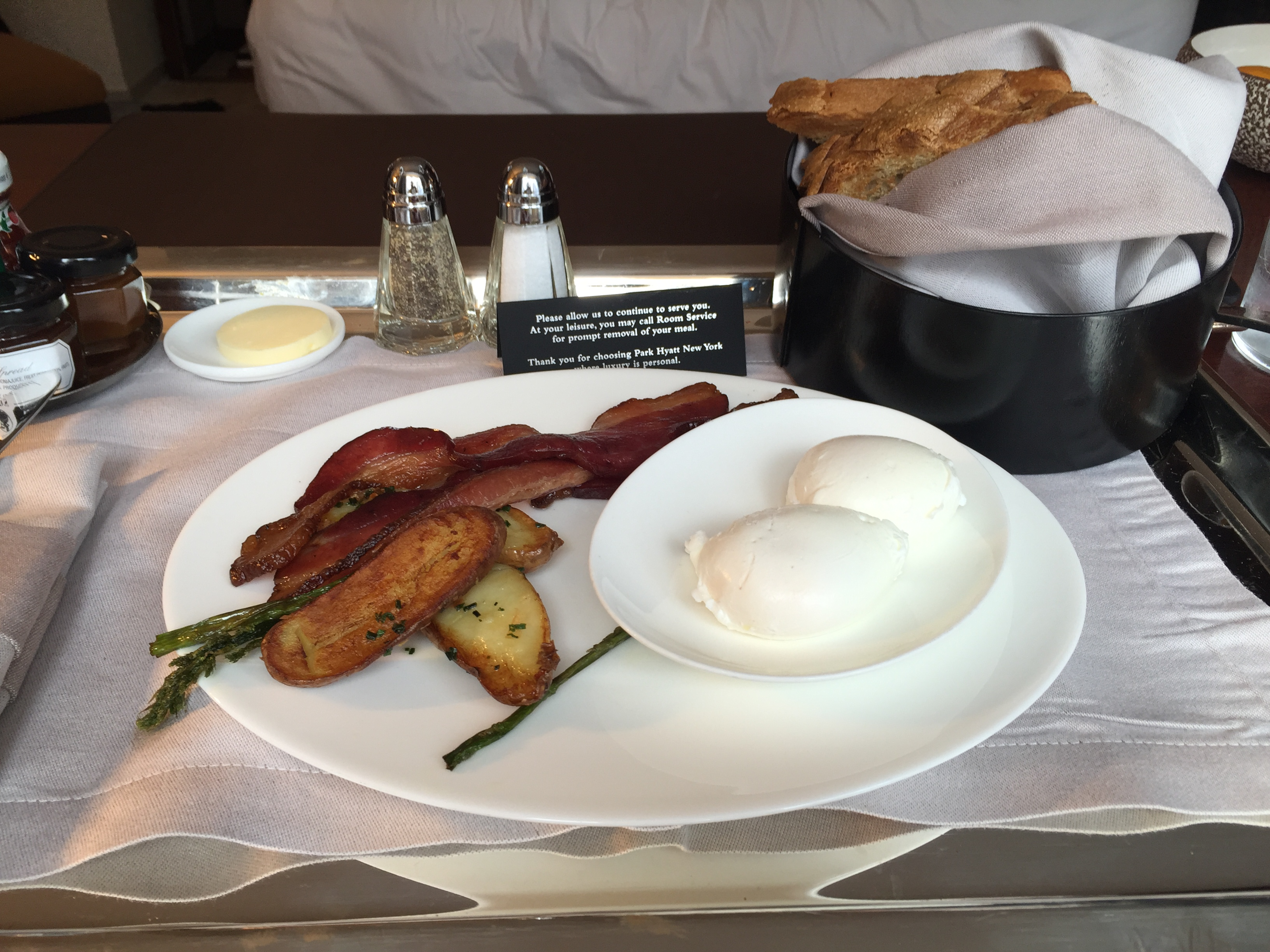 Park Hyatt New York Breakfast