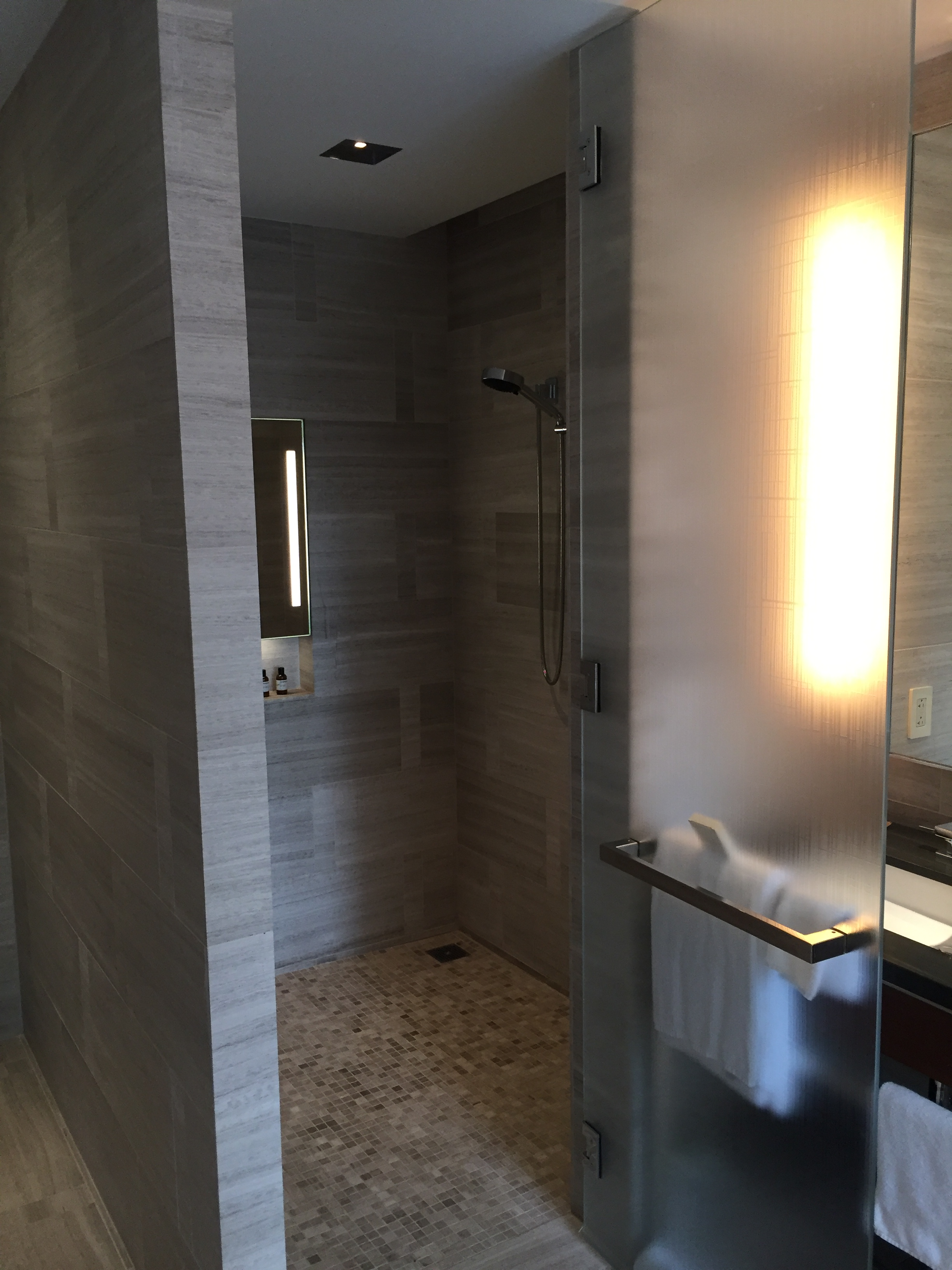 Park Hyatt New York Double Shower