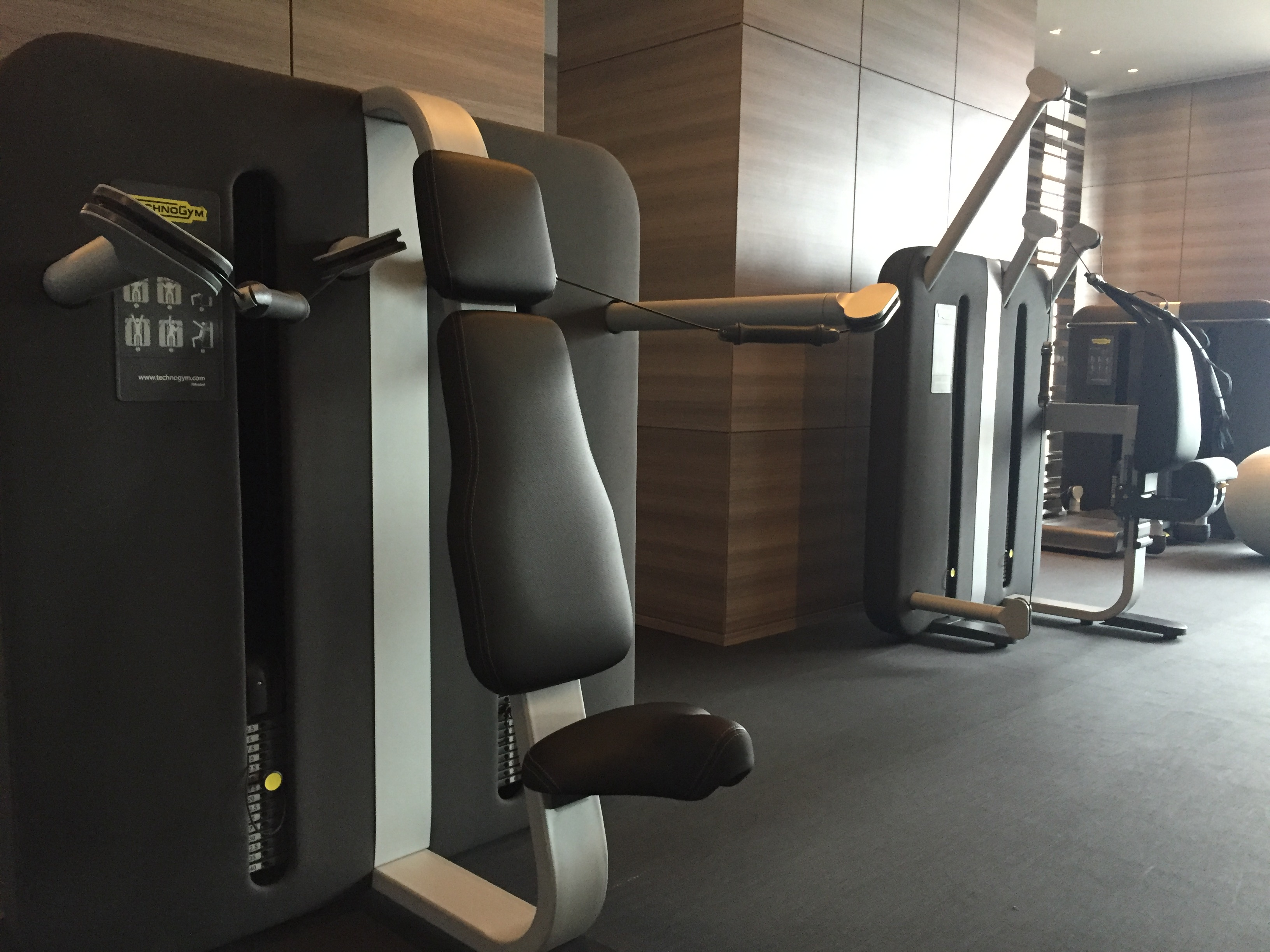 Park Hyatt New York Gym Machines