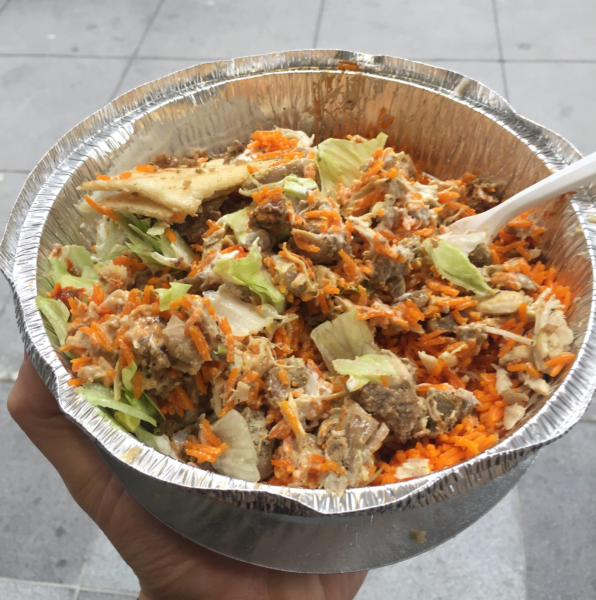 Park Hyatt New York Halal Guys