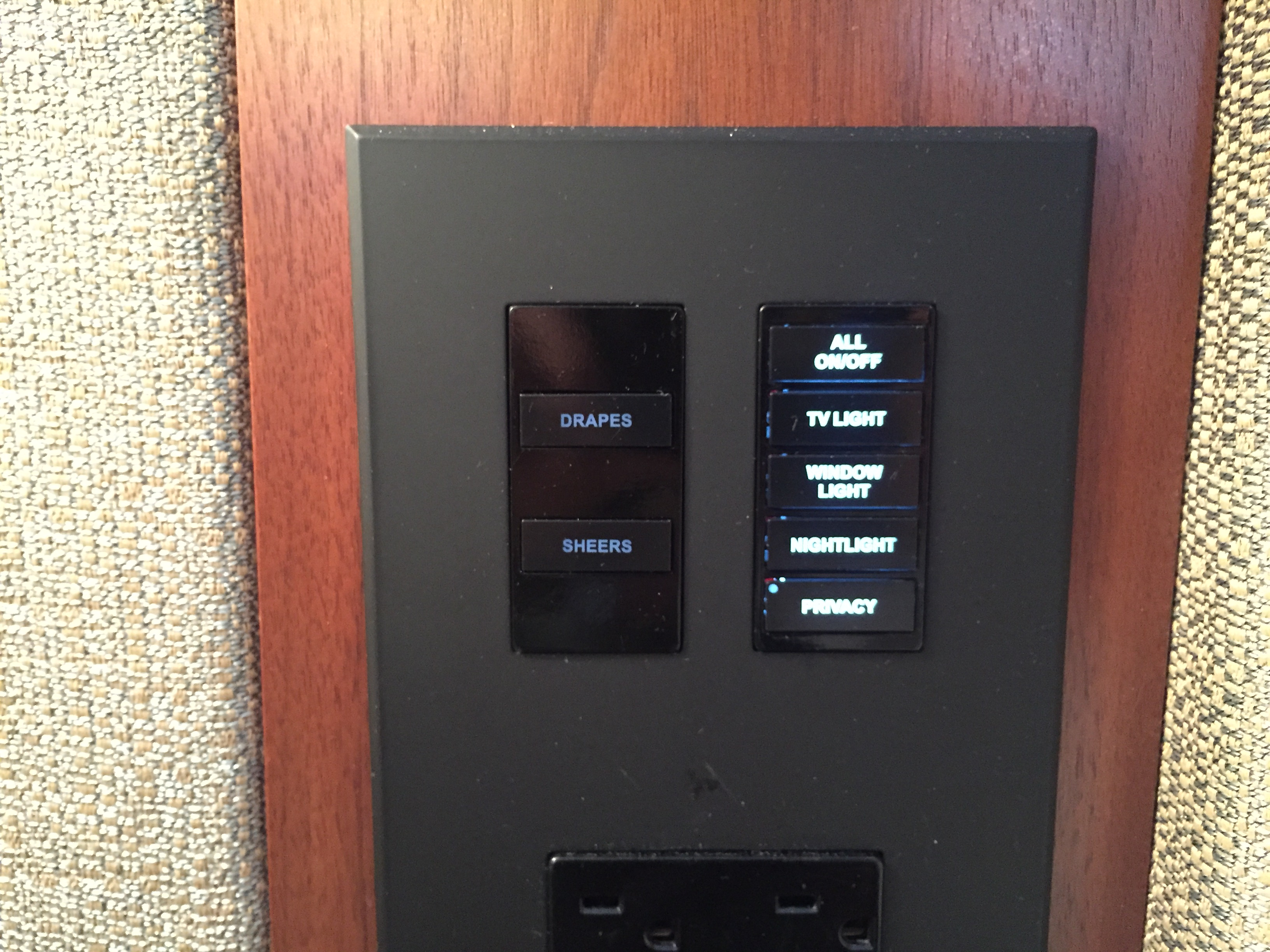 Park Hyatt New York Light Switches