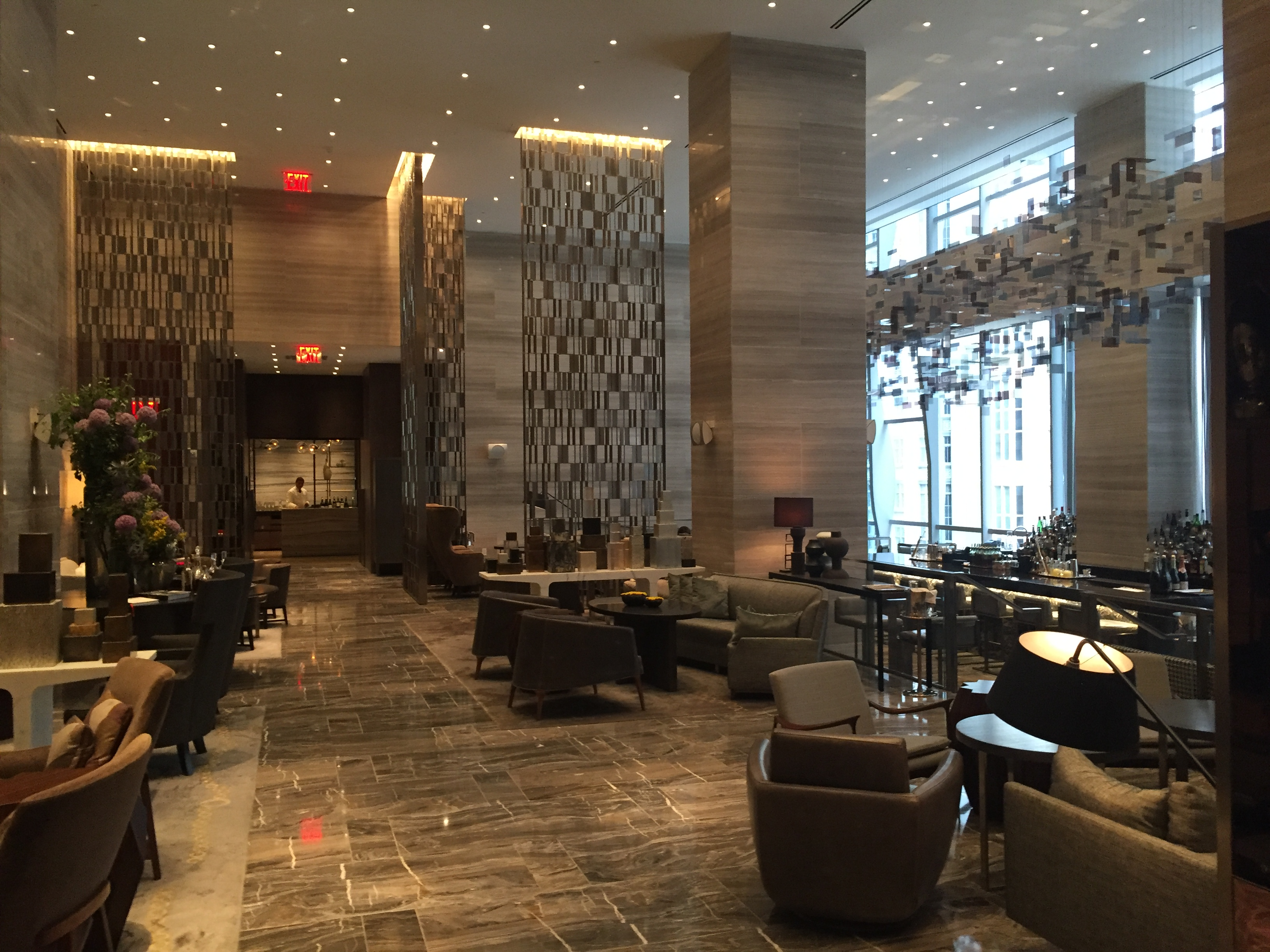 Park Hyatt New York Lobby Lounge