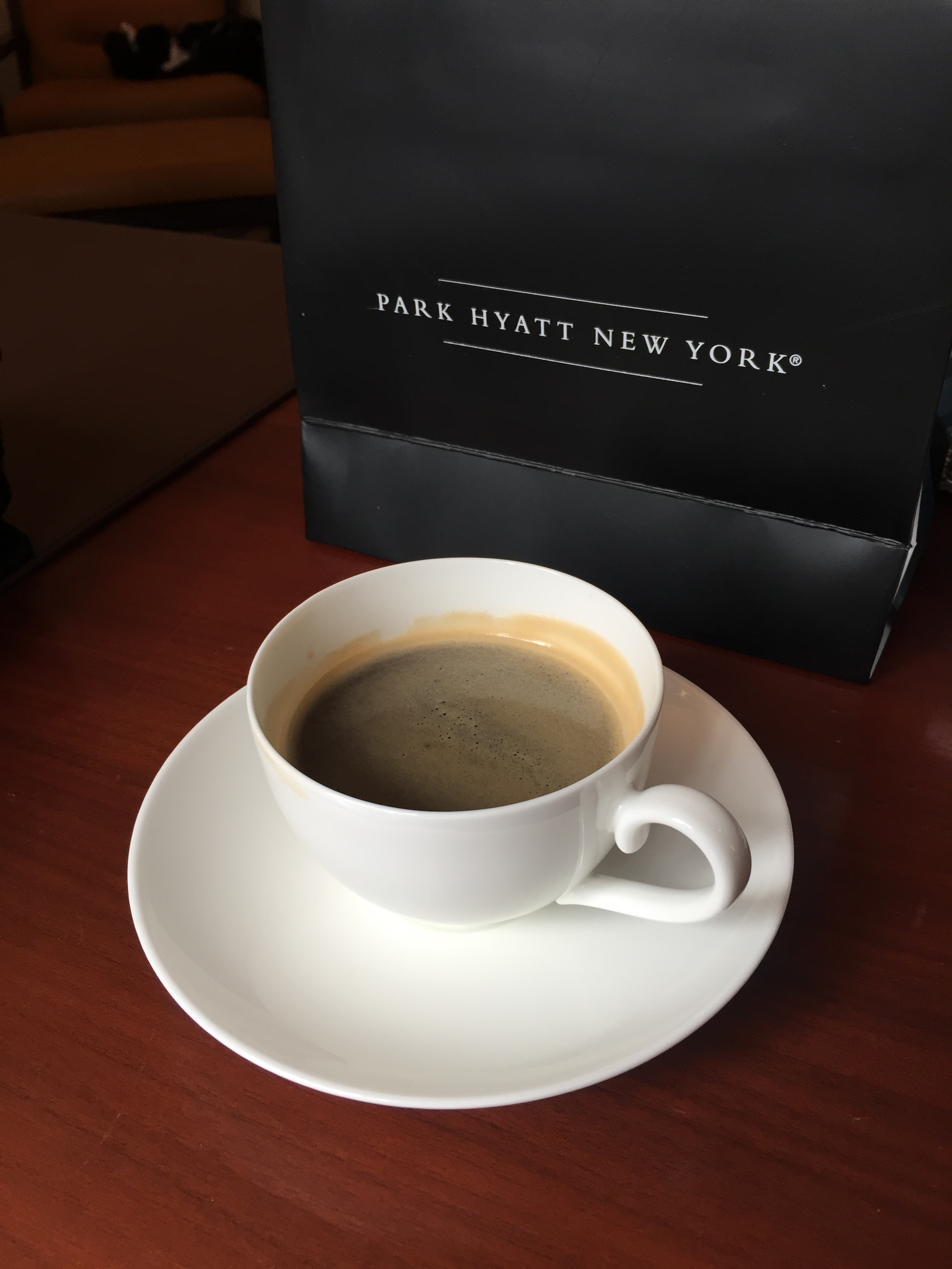 Park Hyatt New York Nespresso